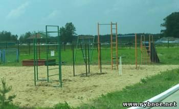 Детская площадка у ФСК Звезда