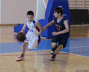 Первенство Рыбновского района по баскетболу 2012