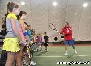 Олег Ковалев позанимался спортом в Рыбновском районе