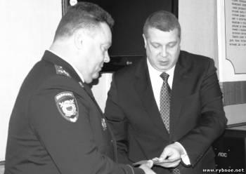 Заместителем начальника ОМВД по Рыбновскому район назначен Денис Грибанов,