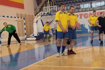 Мини-футбол среди работников прокуратуры Рязанской области