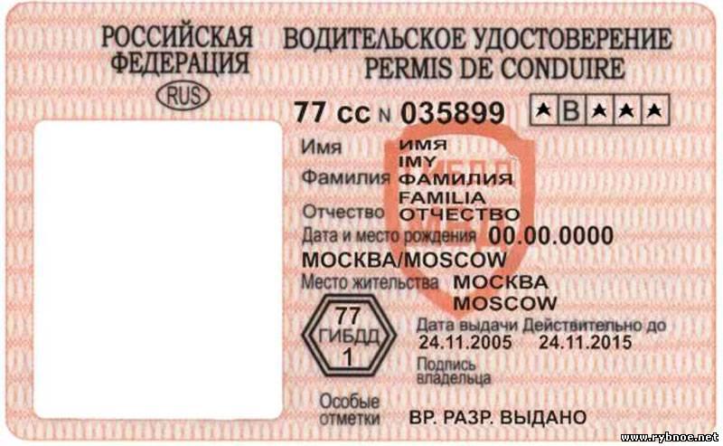 Внимание! Найдено водительское удостоверение