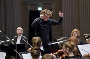 Рязанский Губернаторский Симфонический оркестр отыграл ряд композиций в Рыбном