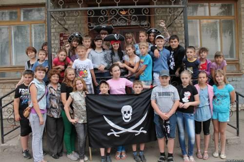 Пиратский праздник в детской библиотеке