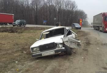 Утром 20 апреля на горяйновском перекрестке произошло ДТП