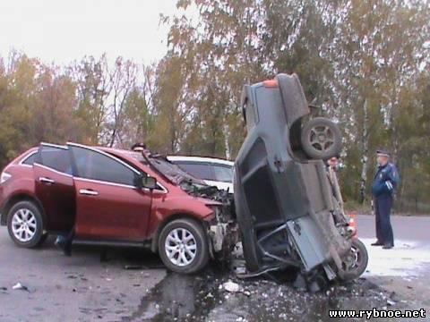 174 км М-5 М5 Урал Рязанская область ДТП авария 03.10.2013