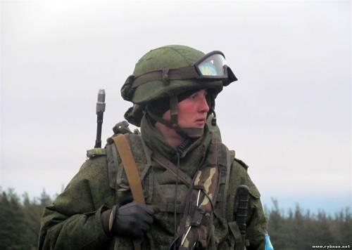 Миротворцы-десантники провели сбор в Сельцах