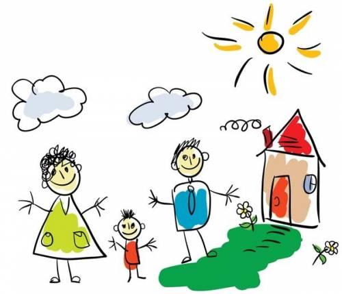 Малыши рисуют счастье