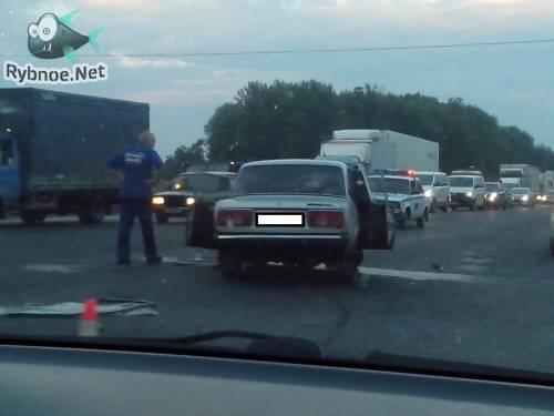 Авария 17 июля на Горяйновском перекрестке. Видео