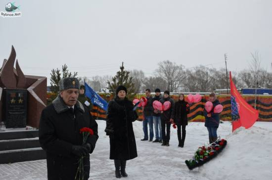 Митинг в честь 26-й годовщины вывода советских войск из Афганистана