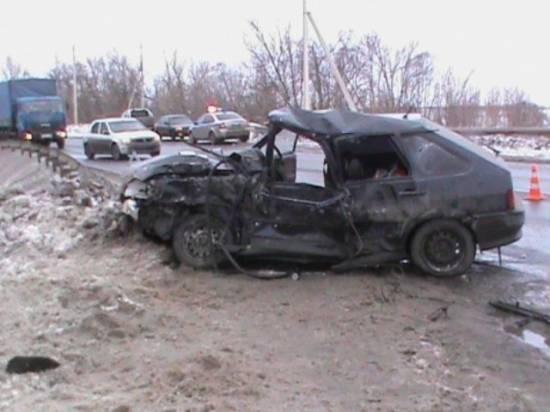 Шокирующие видео страшной аварии под Шацком