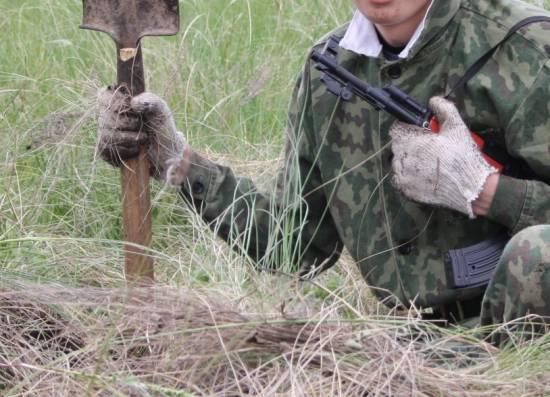 Учащиеся Рыбновского района прошли сборы по основам военной службы