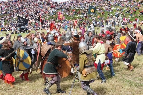 На фестивале «Битва на Воже – 2015» ожидается 30-градусная жара