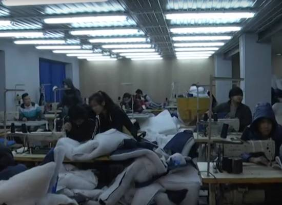Подпольный цех по пошиву одежды