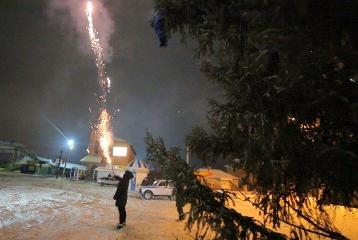 В новогоднюю ночь в Рыбном ожидается -14°