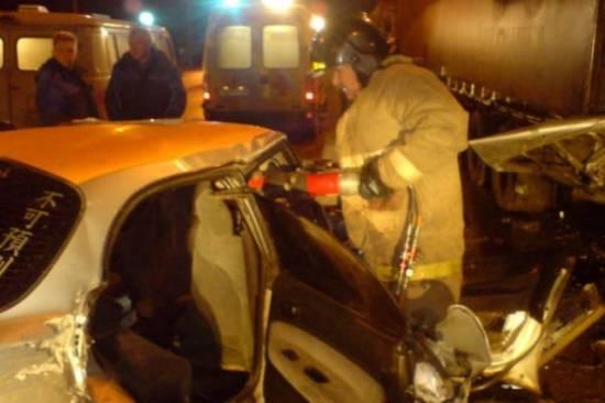 В Рыбновском районе произошло смертельное семейное ДТП
