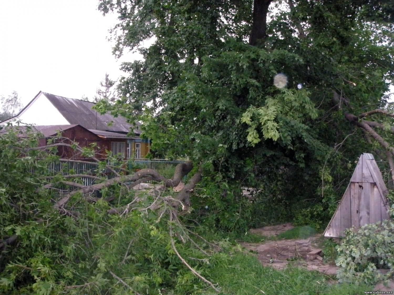 Ураган в Рыбном