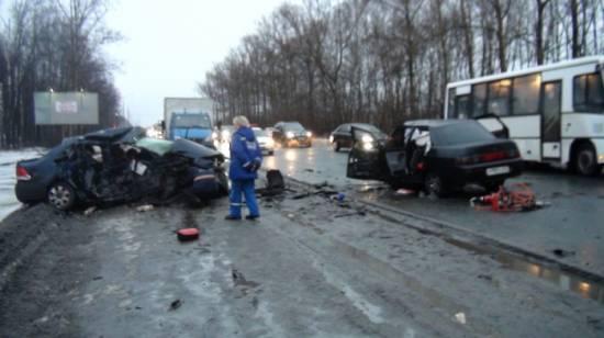 В ДТП на М5 «Урал» погиб рыбновец. На встречной полосе был «Polo»