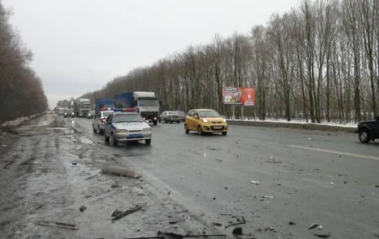 Погибший водитель на М5 был жителем Рыбновского района
