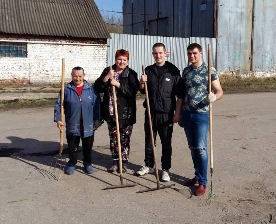 В Рыбном не забывают ветеранов!
