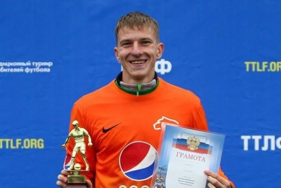 Футболист Александр Барков