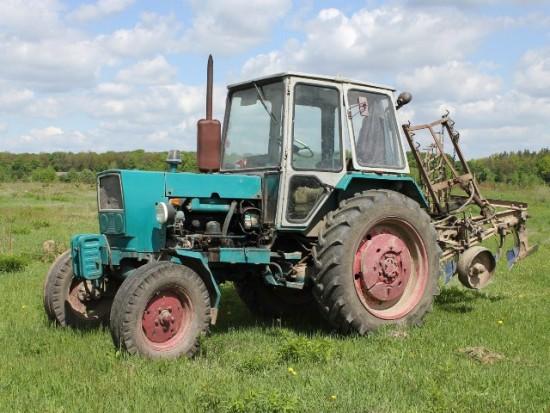 Арест трактора в Рыбновском районе