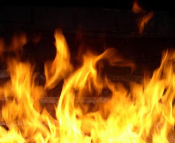 ВРязани впожаре втуалете пострадал человек