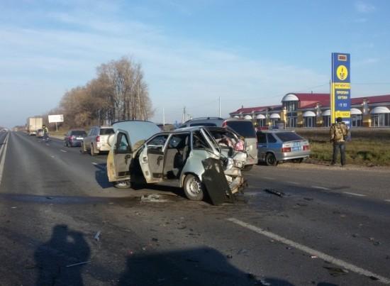 На М5 «Урал» в аварии пострадали пять человек