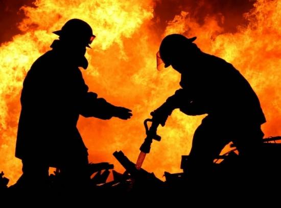 В Выселках сгорел дом