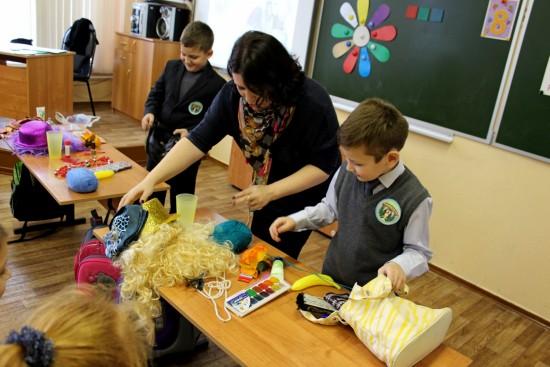 День матери в детской рыбновской библиотеке