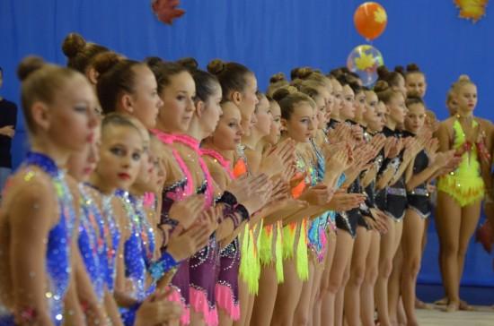 В Рыбном прошли Всероссийские соревнования по гимнастике