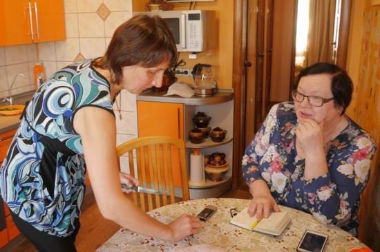 Главный редактор «Приокской» побывала в гостях у семьи Линёвых