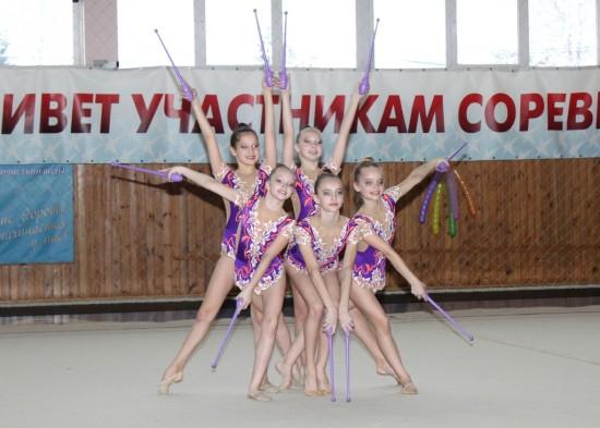 Первое Первенство ДЮСШ «Звезда» по худ. гиманстике групповые упражнения