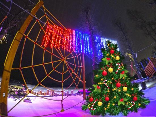 Верёвочный парк «Пересвет» приглашает на дискотеку!