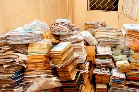 На территории Рыбновского района собрали почти 14 000 кг макулатуры