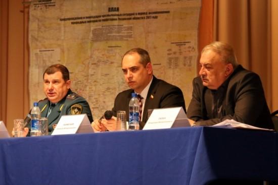 В Рыбновском районе обсудили подготовку к пожароопасному периоду