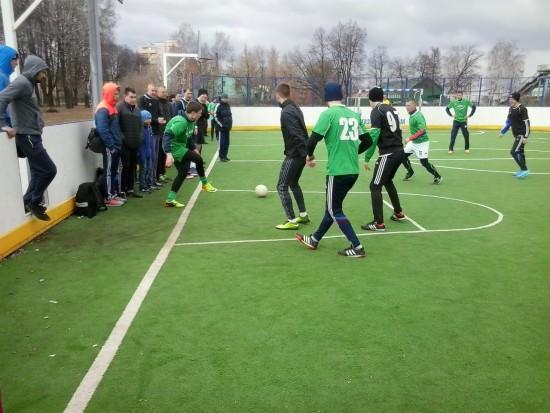 В Рыбном начался Чемпионат района по мини-футболу