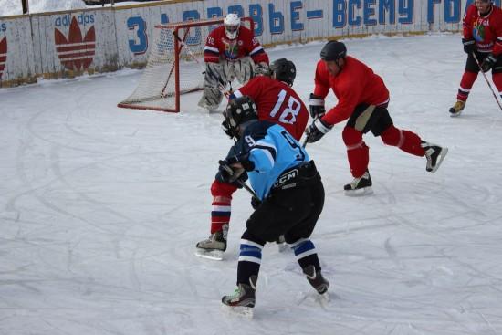 Завершился Чемпионат Рыбновского района по хоккейю с шайбой