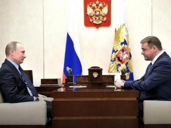 Временно исполняющим обязанности губернатора Рязанской области назначен Николай Любимов