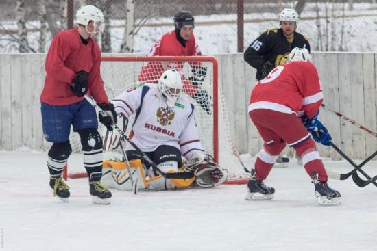 Прошли игры 9 тура Чемпионата по хоккею с шайбой