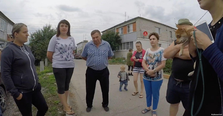 В центре Рыбного жители 6 домов по 12 квартир остались без газа. Видео