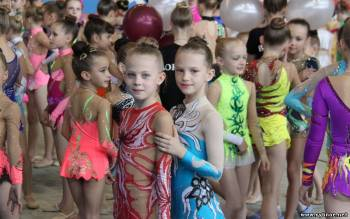 Пять медалей завоевали гимнастки Рыбновского района