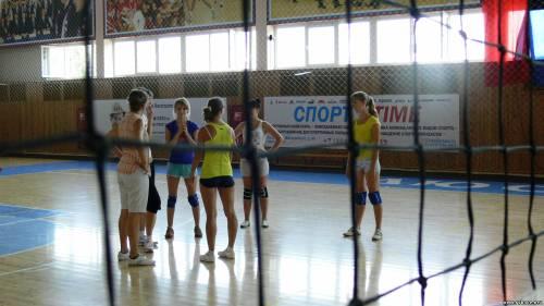 Рыбновские волейболистки не уступили рязанским и заняли первые места