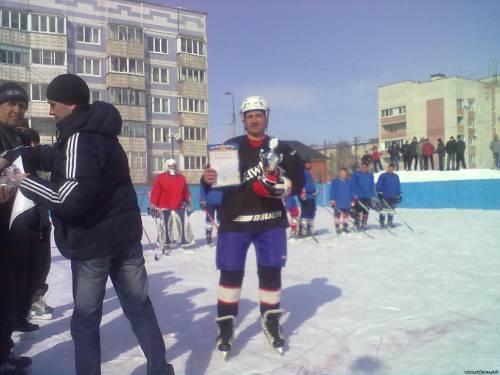 хоккей в Рыбном 2012