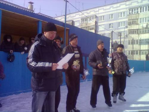 Кубок г. Рыбное по хоккею с шайбой достался команде ВНИК