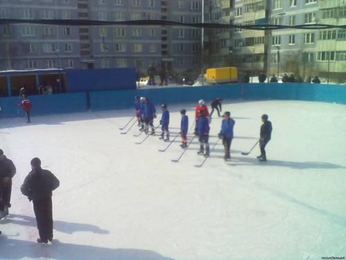Хоккей в Рыбном