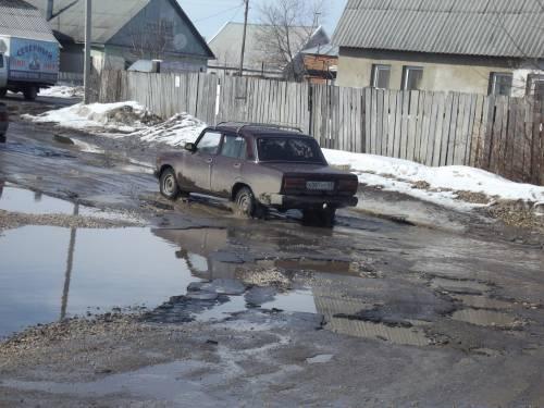 Наши дороги, или почему таксисты не желают ехать в Ходынино. Видео