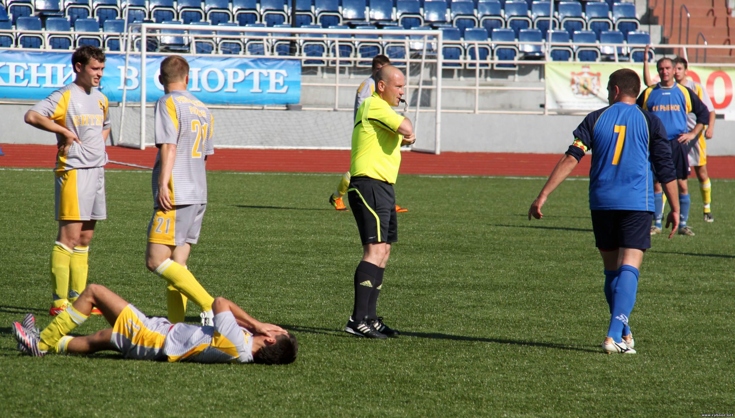 Финал кубка Рязанской области по футболу в 2012 году