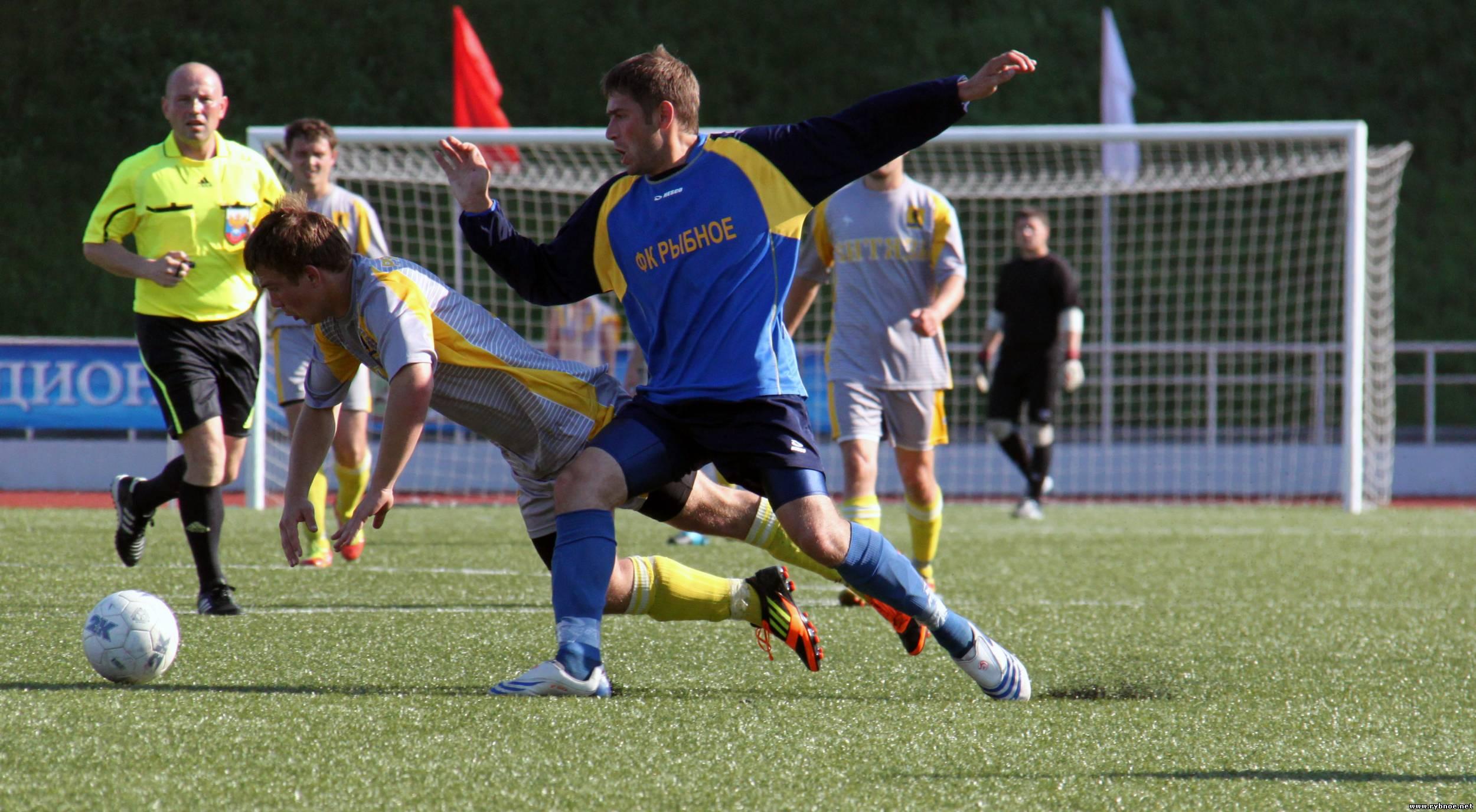 Финал кубка по футболу 2012. Рязань