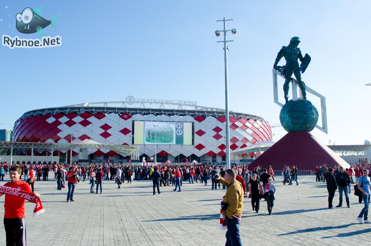 Открытие Арена Спартак Москва